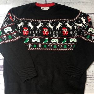 H&M Boys Christmas Sweater Size 8-10Y